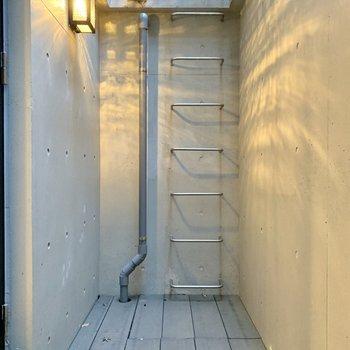 【ドライエリア】地下にもリフレッシュできる空間があります。