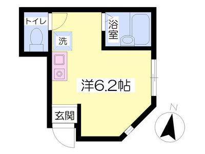 K-house senkawa の間取り