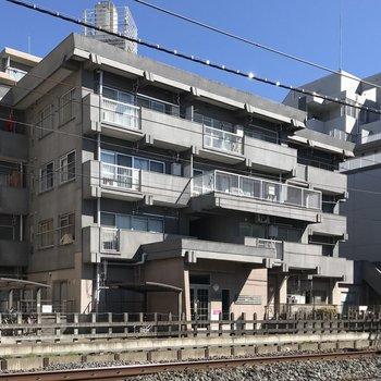 鉄筋コンクリートのしっかりとした造りです。