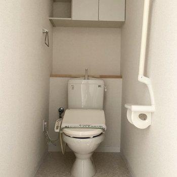 トイレの棚も大事