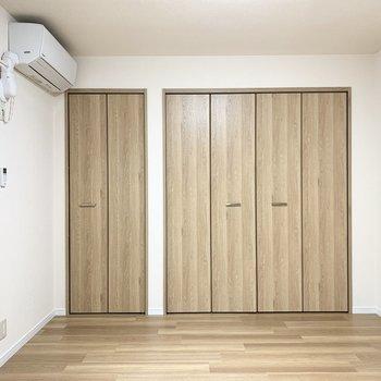 【洋6.6】一面クローゼットでこちらのお部屋も収納力たっぷり◎