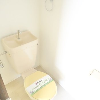 おトイレはシンプル。
