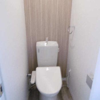 トイレも新しくなっており安心