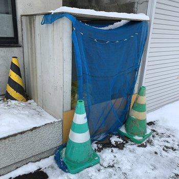 専用ゴミ置き場も完備