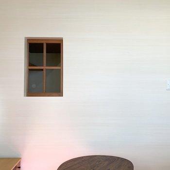 お部屋の中にある小窓って、かわいさ倍増しませんか?