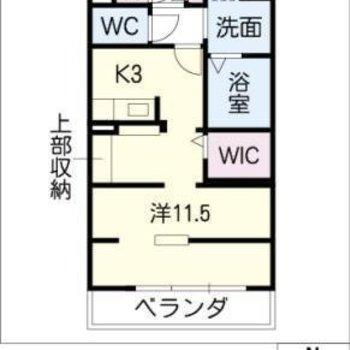 一体のお部屋ですが、ゆるく空間は分けられています。