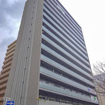 名古屋駅から歩いて約12分の新築マンションのお部屋です。
