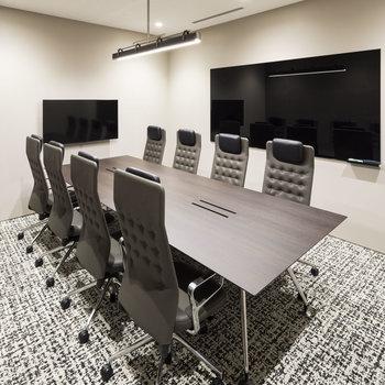 貸し会議室も上質な空間に