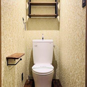 トイレの可愛さにときめきを隠せません!