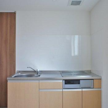 グリル付システムキッチン♡。※写真は、2階の同タイプのもの