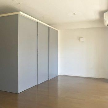 【LDK】このグレーの箱を覗いてみましょうか※写真は3階の同間取り別部屋のものです