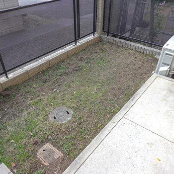 LDK前には専用庭付き!ガーデニングもできちゃいますね。