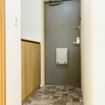 最後は玄関スペース。