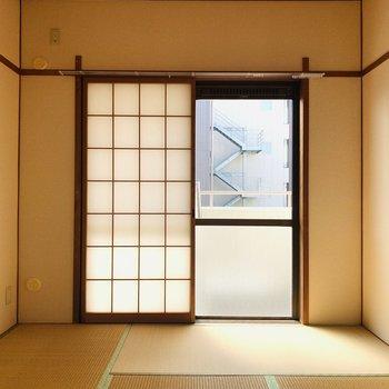 【和6】やっぱり日本らしさを感じますね。ぽかぽかと陽が差し込みます。