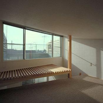ロフトからの眺め写真は別部屋です。(※写真は1階の同間取り別部屋のものです)