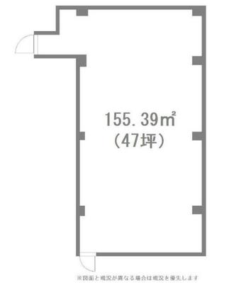 飯田橋 40坪 オフィス の間取り