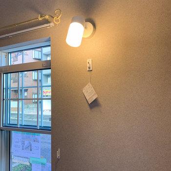 【ディテール】ライトは可愛く。