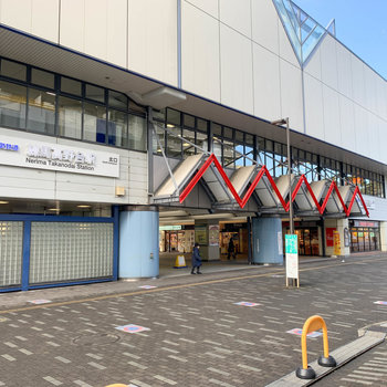 最寄りの練馬高野台駅です。