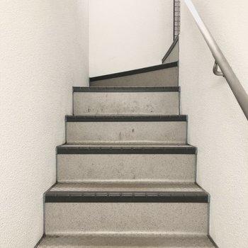 階段幅や上りやすさなど、内見の際にもご確認ください。