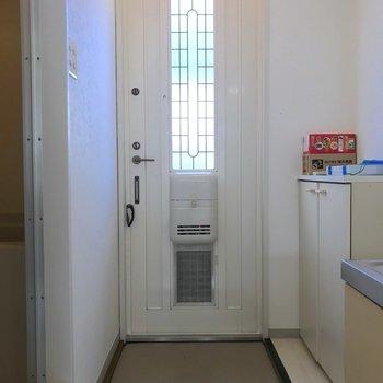 シューズボックスももちろんありますよ。※写真は2階の同間取り別部屋のものです