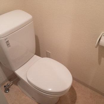 その側にトイレが納まっております。
