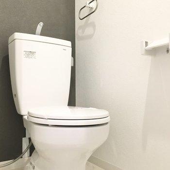 トイレも清潔感があります◎