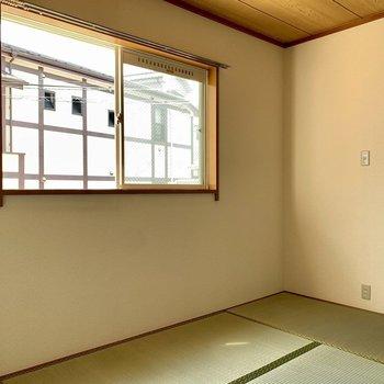 畳の匂いが広がります。※写真は1階の同間取り別部屋のものです