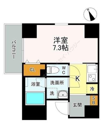 (仮称)南葛西2-20マンション新築工事 の間取り