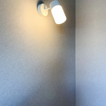【ディテール】ライトもこだわりがあります。