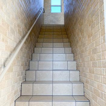 階段移動になります。