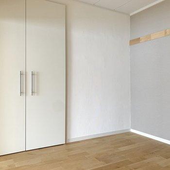 【洋室】寝室にちょうどいい空間ですね。※写真は前回募集時のもの