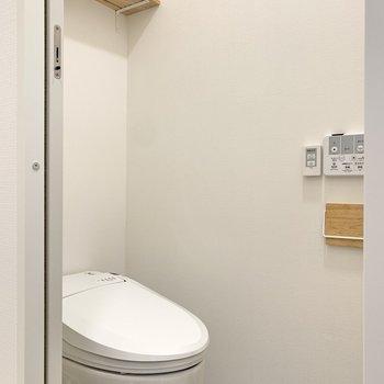トイレは温水洗浄機能付き◎※写真は前回募集時のもの