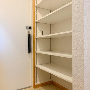 棚の位置も自由に変えられます。