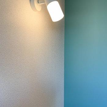 【ディテール】ライトにもこだわりが。