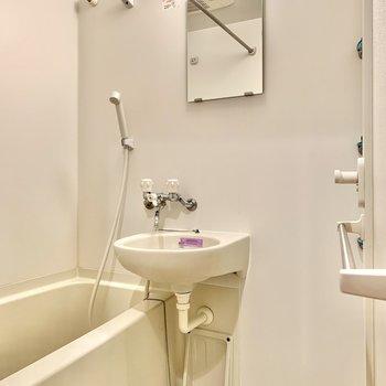 2点ユニットは一気に掃除できるというメリットもあります※写真は14階の同間取り別部屋のものです