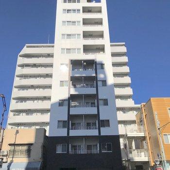 11階建の最上階をワンフロア使うことができます。