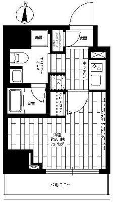ステージファースト横浜阪東橋 の間取り