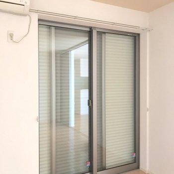 1階ですが全ての窓にシャッターが備え付けられているので長時間の外出も安心ですね。