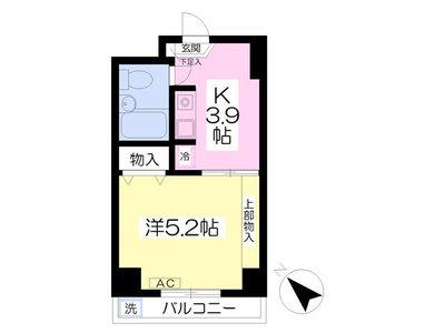 田無木下第3マンション の間取り