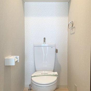 おトイレも素敵な内装◎