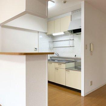 キッチンもゆったりスペース。