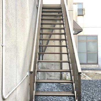 階段の先には何があるかな?