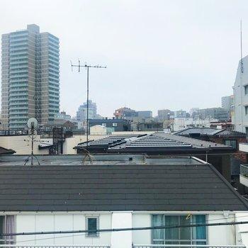 屋上からの景色。