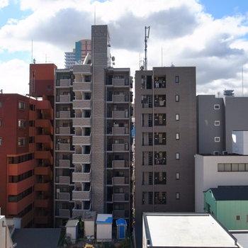 建物がいっぱいの眺望ですが、気持ちよかったです!