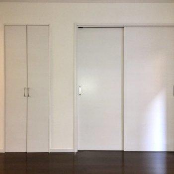 【LDK】扉と壁は統一感がありますね