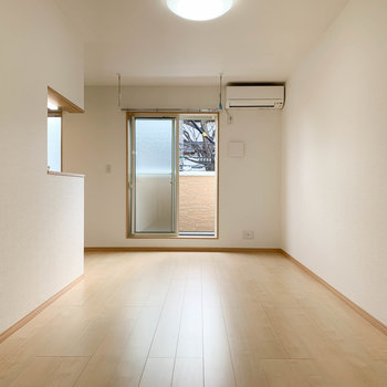 新築の爽やかなお部屋です。