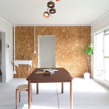 シンプルな空間が創造力を高めます