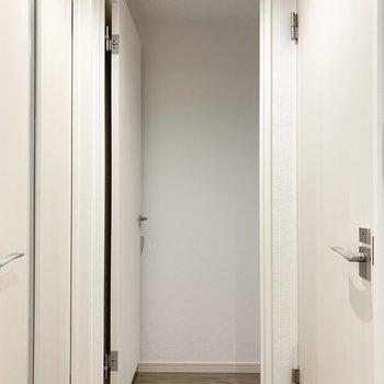 【洋4.5】もうひとつの洋室はお風呂のお隣。
