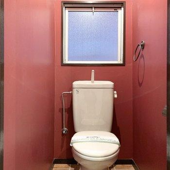 おトイレは情熱的な空間です。