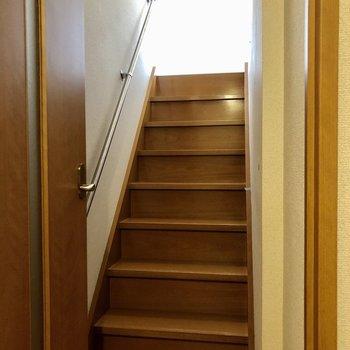 お部屋の中に階段があると自然とメリハリ付きそう。